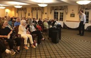 Senior health and wellness seminar