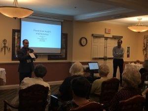 senior health screenings seminar