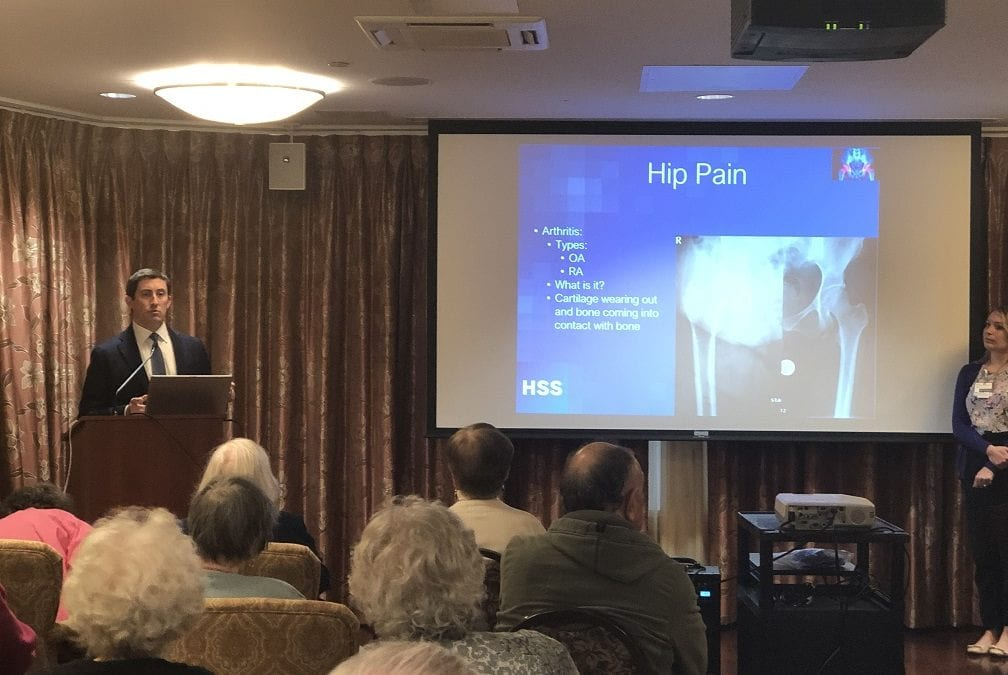 Joint Replacement Seminar ar The Greens